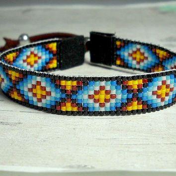 free bead loom bracelets designs - Google Search