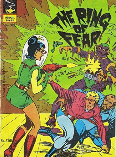 Indrajal Comics-372: Flash Gordon:The Ring Of Fear (1981)