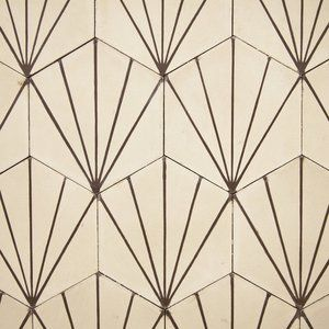 beautiful art deco tiles:
