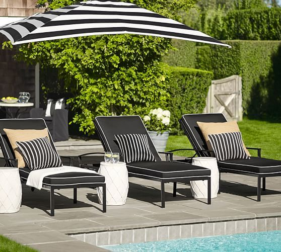 Net Ceramic Side Table In 2020 Pool Patio Furniture Pool