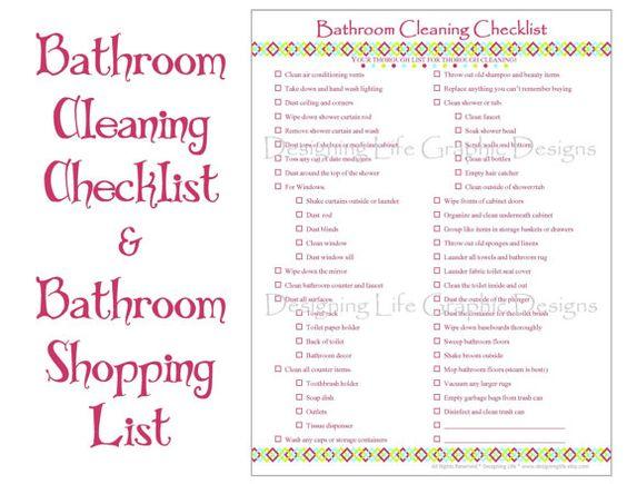 Home Organization Checklist Pdf Printable Basic