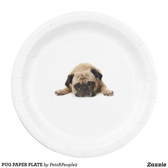 PUG PAPER PLATE