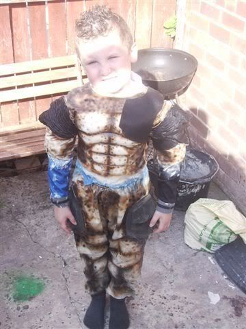 predator costume for my son, video added page 2