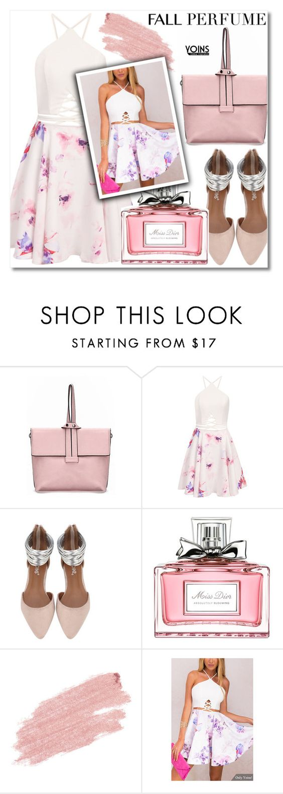 """Yoins"" by enola-pycroft ❤ liked on Polyvore featuring Christian Dior and Jane Iredale"