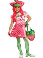 Well here we go.  Strawberry Shortcake Costume Deluxe-Party City