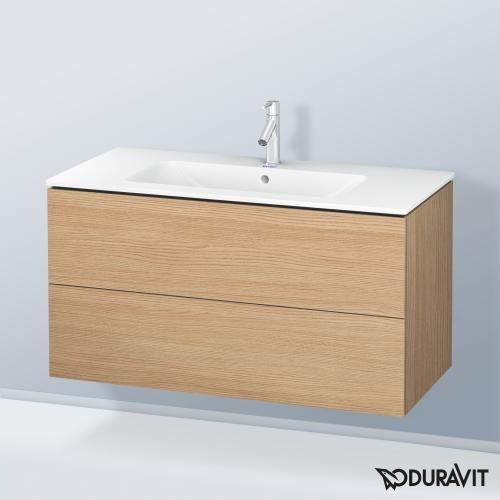 Duravit Me By Starck Waschtisch Mit L Cube Waschtischunterschrank