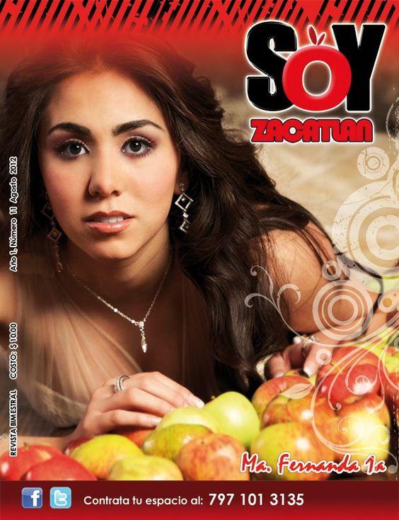 la portada numero 11, la que mas a gustado la embelleció Fernanda Mora