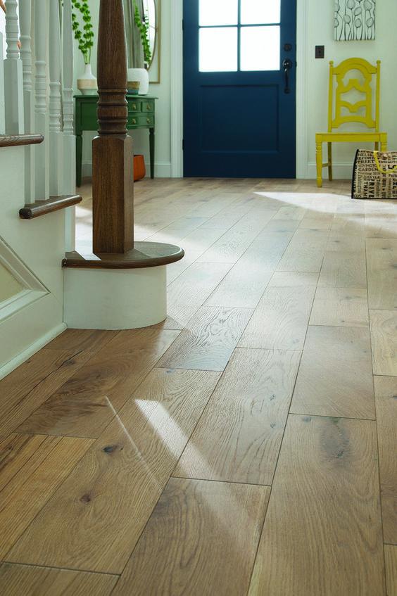 Hardwood Floor Inspiration With Details Nikki S Plate Blog In 2020 White Oak Floors Flooring Light Hardwood Floors