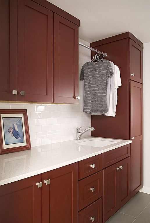Contemporary Laundry Room - Found on Zillow Digs