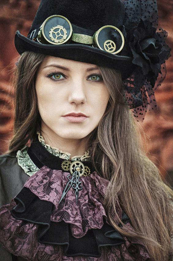 steamgirls - LOVE this purple | Danielle Yrulegui
