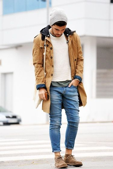 100 Men's Street Style Outfits For Cool Guys   Style, Beanie and ...