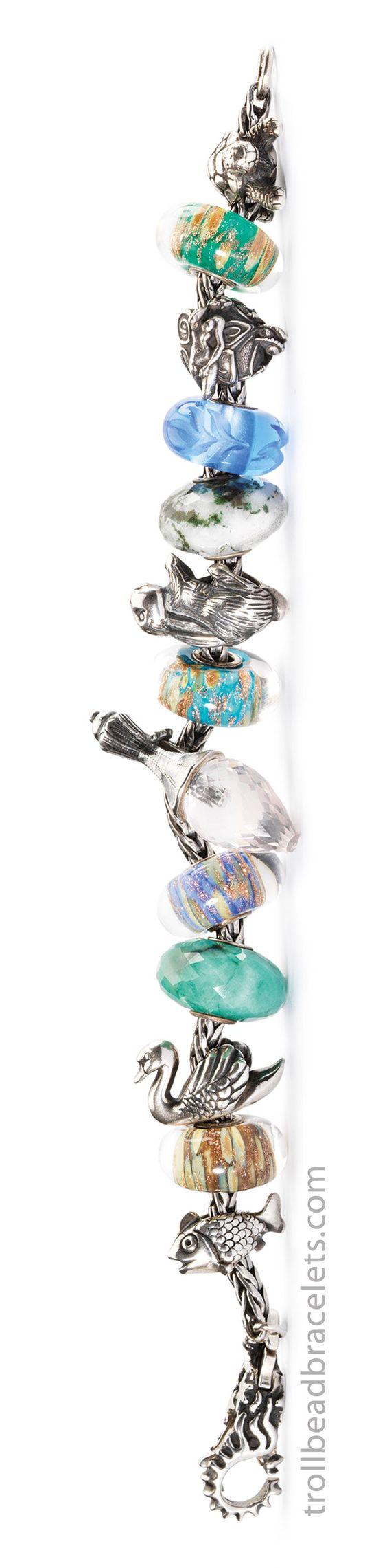 Trollbeads 2014 spring collection hanging garden bracelet