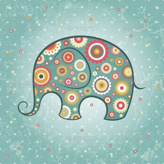indian elephant art - Google Search