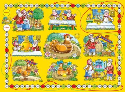 Game board print; copyright Nataly Bannykh at Dreamstime.com