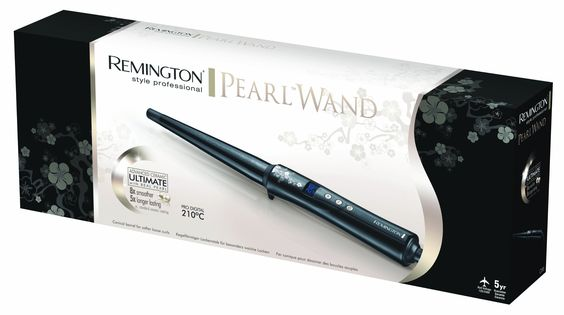 Remington Ci95 Conique Pearl - Moldeador de pelo (diseño cónico, hasta 210º C, pantalla digital): Amazon.es: Belleza 21€