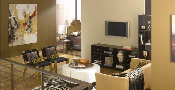 Behr behr paint and deserts on pinterest for Desert colors interior design