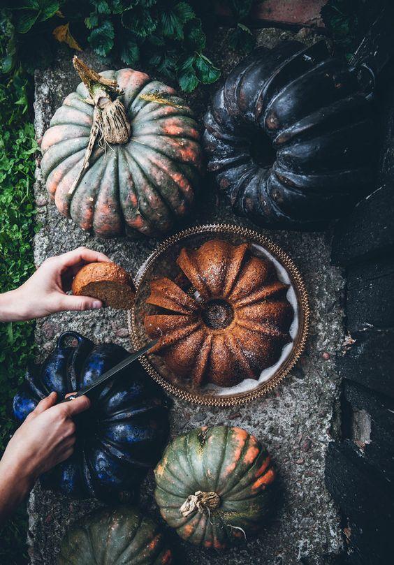 Blåbärssnår, äppelskrutt och rabarberskugga