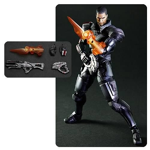 EBU IMPORTS- East Bay Underground - PLAY ARTS - MASS EFFECT 3 COMMANDER SHEPARD ACTION FIGURE - PRE-ORDER, $64.99 (http://www.ebuimports.com/play-arts-mass-effect-3-commander-shepard-action-figure-pre-order/)