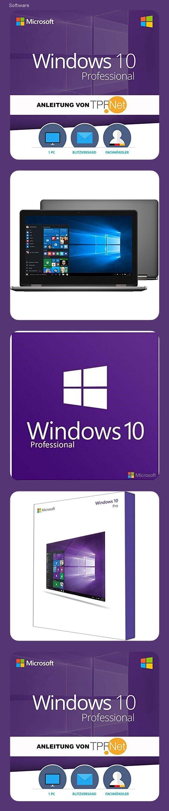 Original Ms Windows 10 Professional 64 Bit Deutsch Vollversion Originaler Lizenzschlussel Inkl Anleitung Von In 2020 Microsoft Windows 10 Frage Antwort Anleitungen