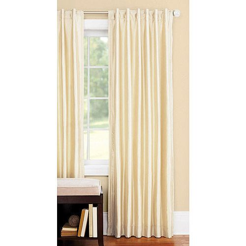 Better Homes And Gardens Thermal Faux Silk Back Tab Window