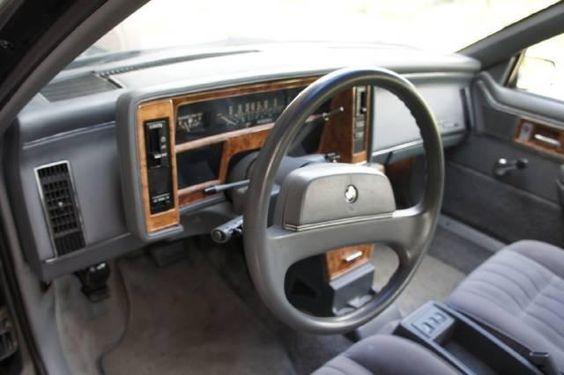 1989 buick skylark interior 1989 buick skylark custom for Idea interior cierra