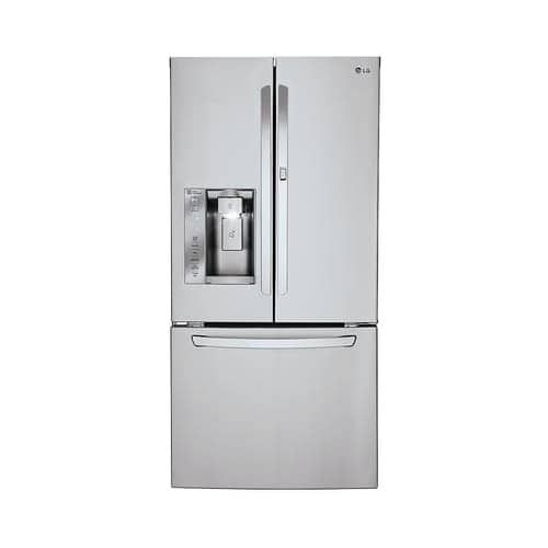 LG LFXS24663 33 Inch Wide 24.4 Cu. Ft. Energy Star Rated French Door  Refrigerator