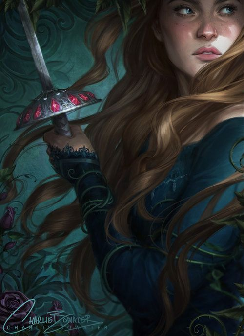 Charlie Bowater - Cover art for Sorcery of Thorns by Margaret Robinson,  2019 | Art, Fantasy art, Art inspiration