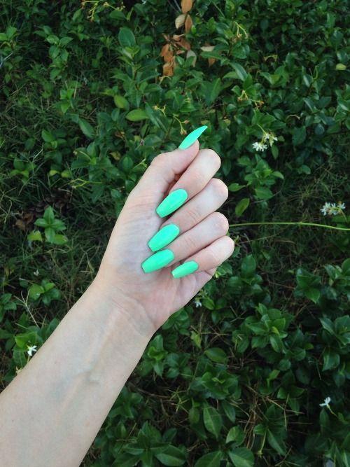 Aqua coffin nails   Nail art   Pinterest   Coffin nails, Nails and Aqua