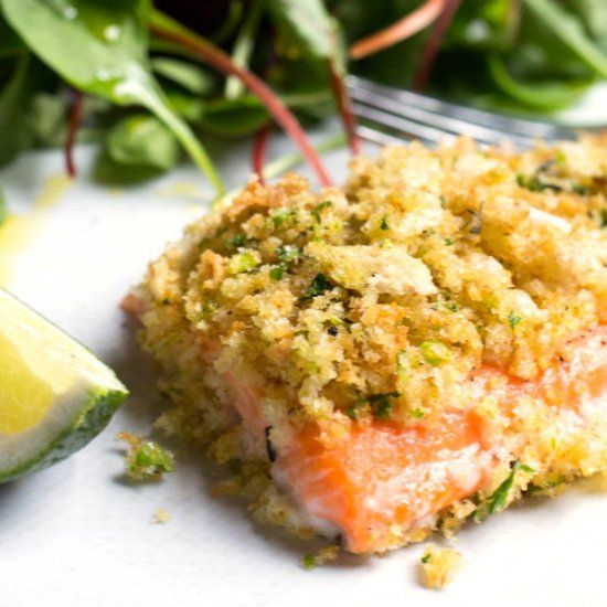 Arctic Char, citrus crusted with mixed greens, succulent, moist, flaky, and flavorful. A great addition to the weekly meal plan.