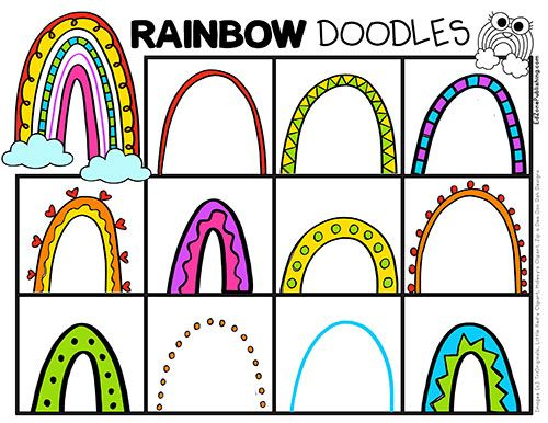 Thank You Rainbow Printables Rainbow Activities Activities For Kids Free Homeschool Printables