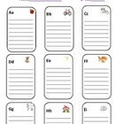 An excellent sight word folder for classroom use. Includes spots for all letters of the alphabet and additional boxes of color words, number words,...