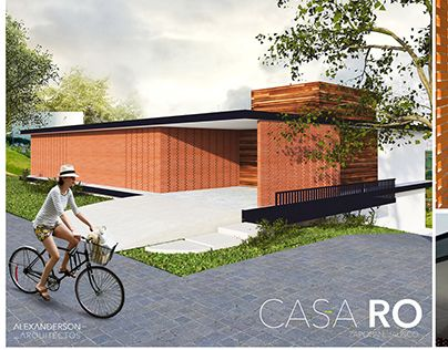 "Check out new work on my @Behance portfolio: ""CASA RO, ALEXANDERSON ARQUITECTOS""…"