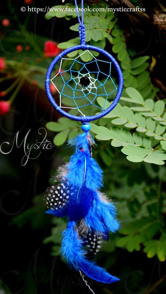 Customized Dreamcatchers by Mystic (Anusha Bhadauria)  Contact us to place an…