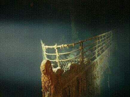 Las ruinas del Titanic, Espectacular.
