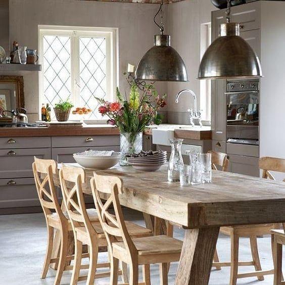ديكورات أرابيا مجلة الديكور العربية أول مجلة عربية متخصصة في فنون التصميم الداخلي مصدر عربي را In 2020 Rustic Dining Room Rustic Kitchen Dining Room Exposed Brick