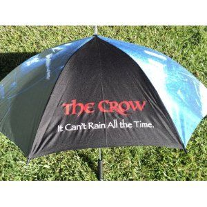 """The Crow """"It Can't Rain All The Time"""" Umbrella Brandon Lee Movie"""