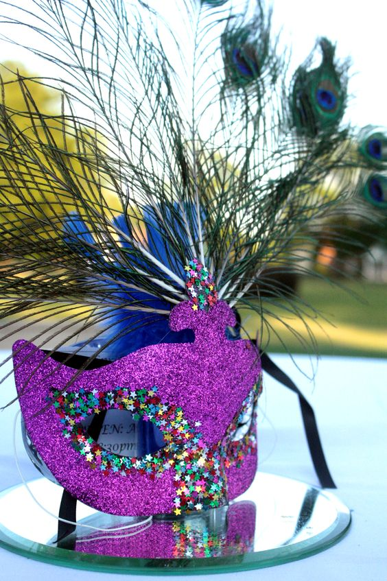 Party favors flower and masquerade ball on pinterest