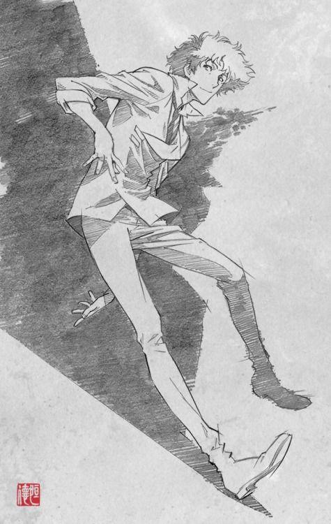 Spike Spiegel by Tsunenori Saito (斎藤 恒徳)