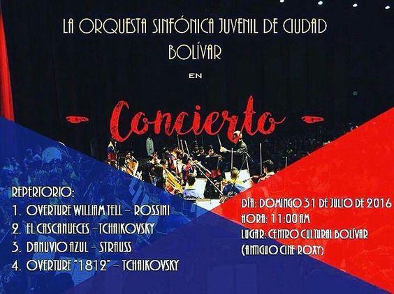 Hoy a las 11am #CiudadBolivar  Entrada gratis