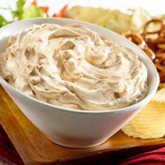 Creamy Onion Dip, pinning this to make tomorrow (I threw out the box)