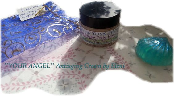 Antiaging Day cream YOUR ANGEL with Argan oil by ElenisLittleShop