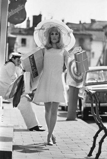 Catherine Deneuve by Hélène Jeanbrau in Les demoiselles de Rochefort directed by Jacques Demy, 1967