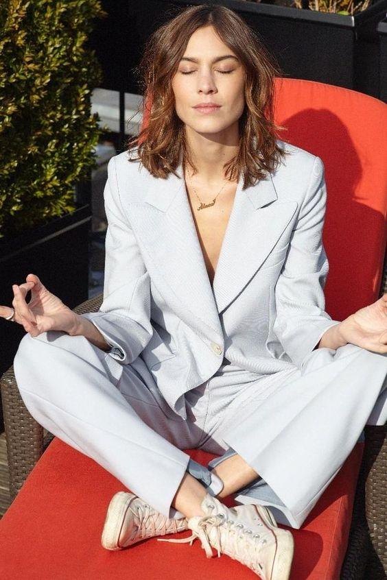 Alexa Chung | Suit