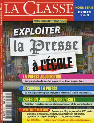 La presse à l'école - Boutique des éditions LaClasse