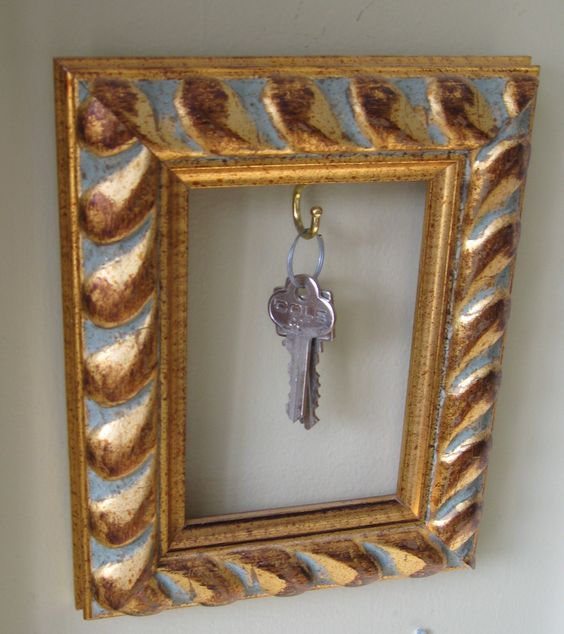 A cool place to hang your keys care of Ciraco Custom Framers.