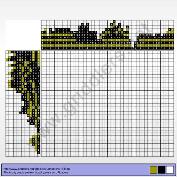 Griddlers Puzzle 174438 Krasukha-2 (Military Technology)