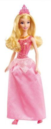 Disney Princess Sparkling Princess Sleeping Beauty Doll by Mattel. $11.99. Great addition to any girls collection. Girls can recreate their favorite Disney fairytale moments. Dressed in her beautiful signature gown. The lovely and beloved Princess Sleeping Beauty. Gown is decorated with sparkling glitter. From the Manufacturer                Disney Princess Sparkling Princess Collection: The beloved princesses from girls' favorite Disney fairytales look as enchantin...