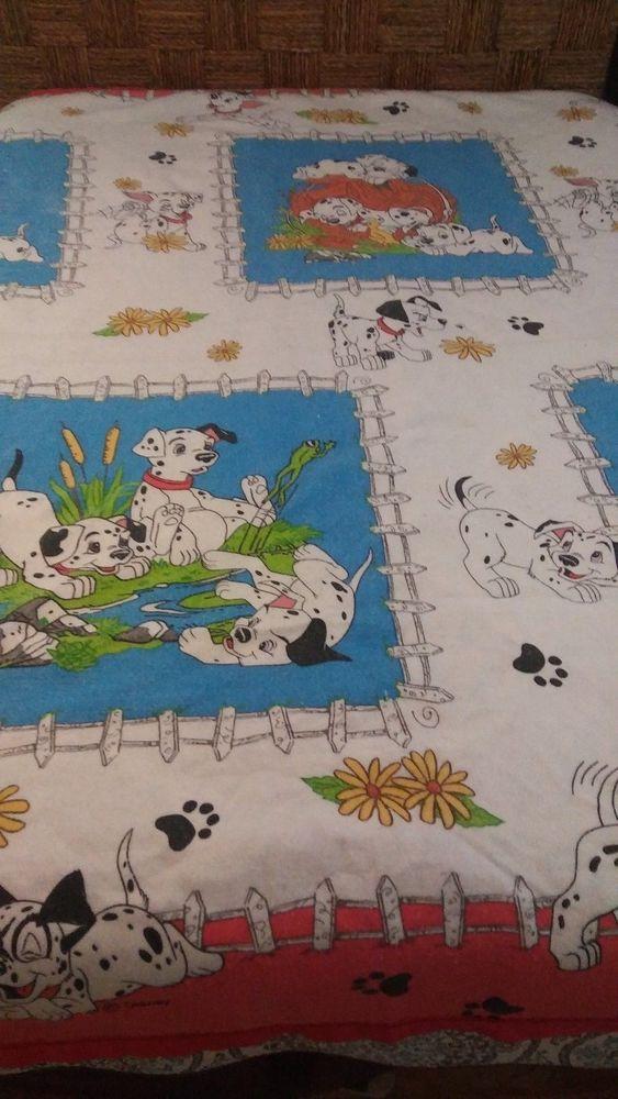 Vintage 1991 Disney 101 Dalmatians Country Blanket Twin Or Full 72 X 90 Beacon Disney Twin Blanket Country Blankets Disney 101 Dalmatians