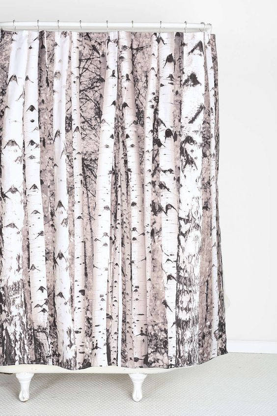 Curtains Ideas birch tree curtains : Birch Tree Shower Curtain | Trees, Urban outfitters and Urban