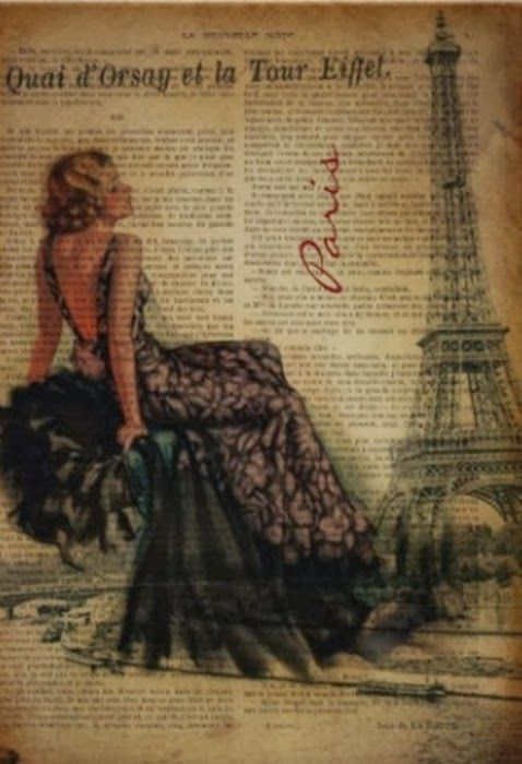 MI BAUL DEL DECOUPAGE: COLLAGES VINTAGE....